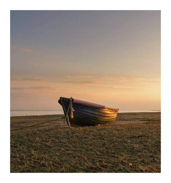 Old Boat Wall Art - Photograph - Sun Kissed  by Mark Mc neill