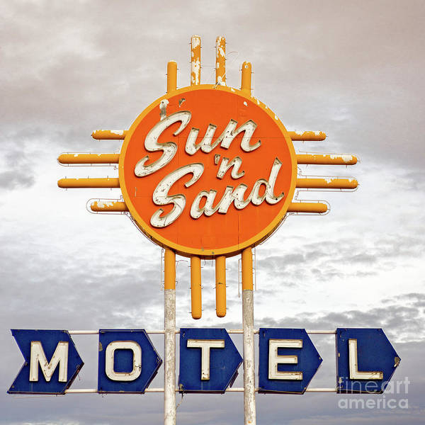 Photograph - Sun 'n Sand Motel  by Imagery by Charly