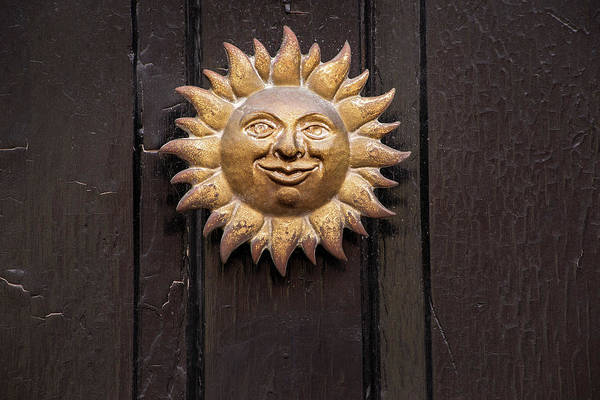 Photograph - Sun On Door by Don Johnson