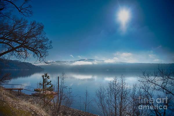 Photograph - Sun Over Lake Coeur D'alene by Matthew Nelson