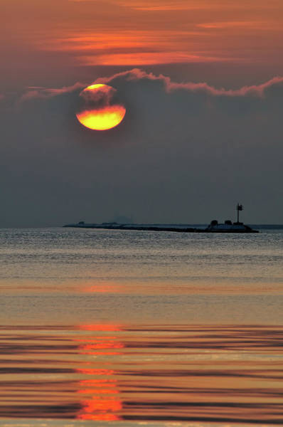 Usa Navy Photograph - Sun Rises On Chicago by Bruce Leighty