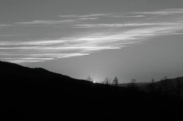 Wall Art - Photograph - Sun Sets Behind The Ridge by Dimitris Sivyllis