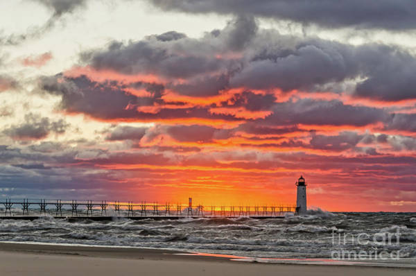 Photograph - Sun Sinking Below The Horizon by Sue Smith