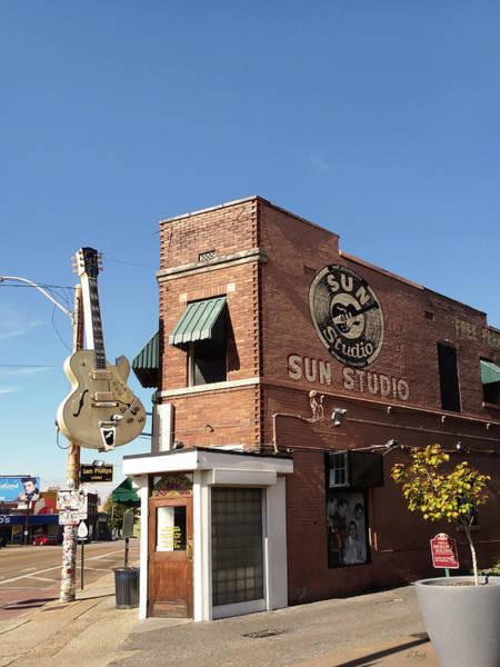 Wall Art - Photograph - Sun Studio, Memphis, Tn by Gordon Beck