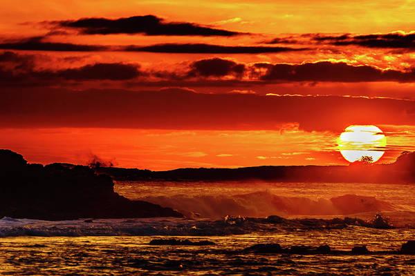Photograph - Sun Touches Down by John Bauer