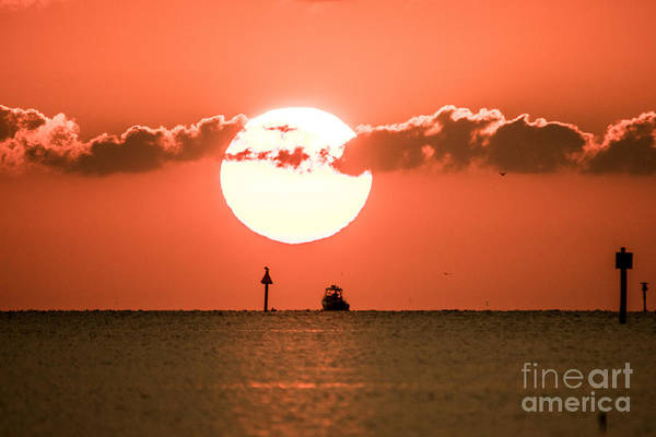 Photograph - Sun Up Close by James Hennis