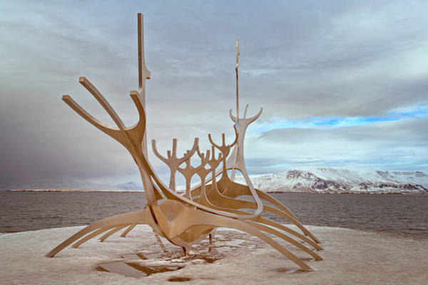 Wall Art - Photograph - Sun Voyager Reykjavik Iceland by Joan Carroll