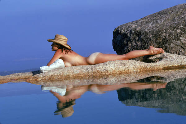 Sardinia Photograph - Sunbathing In Sardinia by Slim Aarons