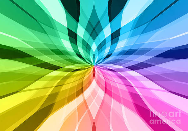 Wall Art - Digital Art - Sunbeam Background by Viachaslau Kraskouski