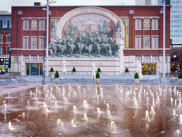 Photograph - Sundance Square Fort Worth 021619 by Rospotte Photography