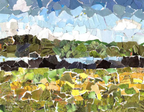River Scene Mixed Media - Sunday Afternoon by Shana Rowe Jackson