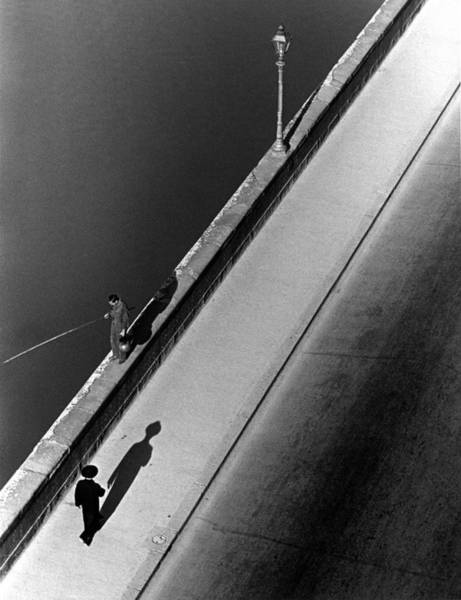 Photograph - Sunday Morning Along The Arno River. A by Alfred Eisenstaedt