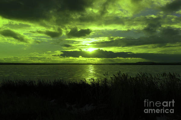 Wall Art - Photograph - Sundown On A Winter Lake by Jeff Swan