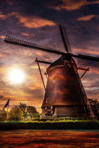 Photograph - Sundown Over Holland  by Debra and Dave Vanderlaan