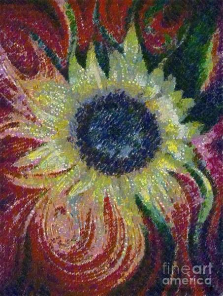 Painting - Sunflower Artpoppin by Catherine Lott