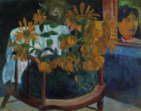 Wall Art - Painting - Sunflowers, 1901 by Paul Gauguin