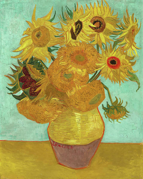 Wall Art - Painting - Sunflowers, 1963 by Vincent van Gogh