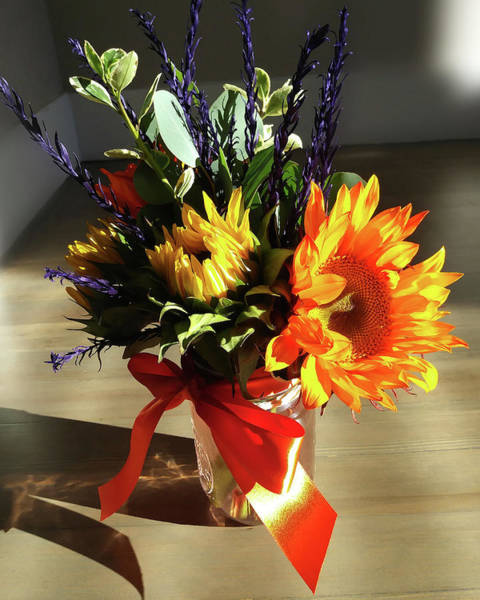 Wall Art - Photograph - Sunflowers Autumn Bouquet  by Irina Sztukowski