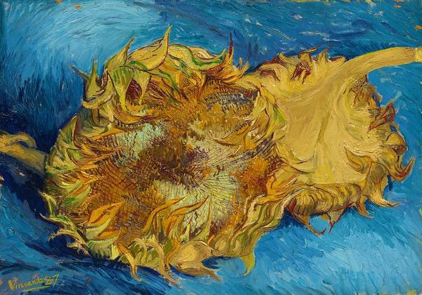 Wall Art - Painting - Sunflowers - Digital Remastered Edition by Vincent van Gogh