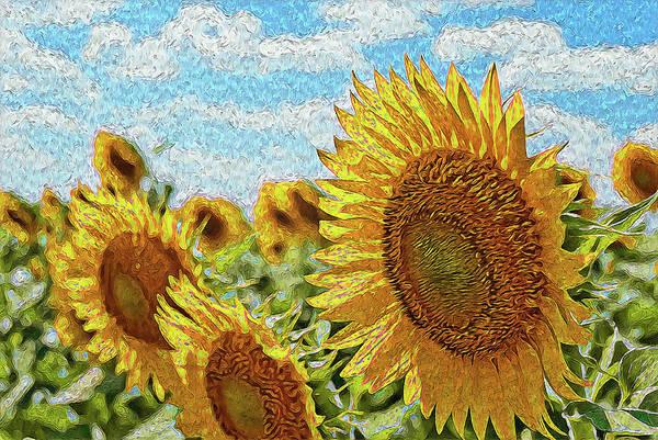 Painting - Sunflowers Paradise - 01 by Andrea Mazzocchetti