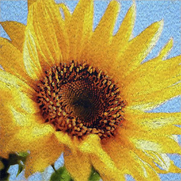 Painting - Sunflowers Paradise - 03 by Andrea Mazzocchetti