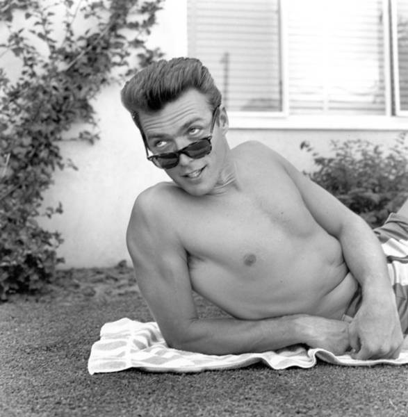 Clint Eastwood Photograph - Sunglasses by Michael Ochs Archives