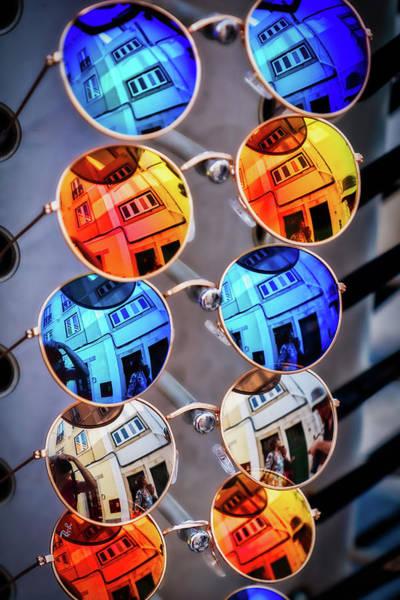Photograph - Sunglasses Reflections by Stuart Litoff
