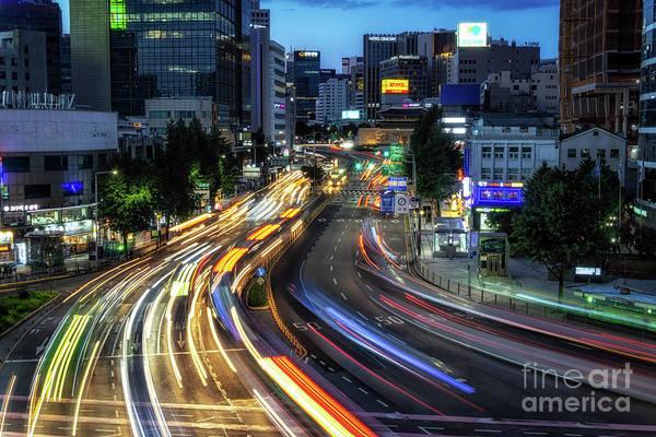 Wall Art - Photograph - Sungnyemun Gate In Seoul by Aaron Choi
