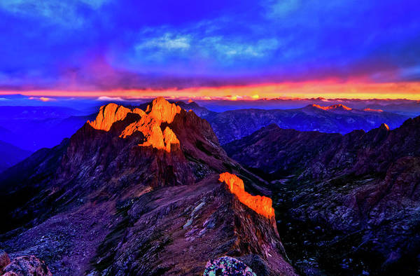 Silverton Photograph - Sunkissed by Photo By Matt Payne Of Durango, Colorado