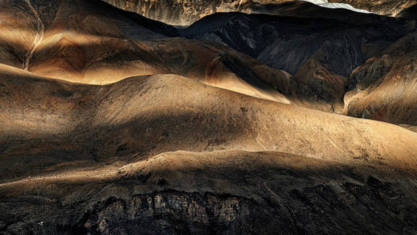 Wall Art - Photograph - Sunlight Over The Mouintains On The Way by Panoramic Images