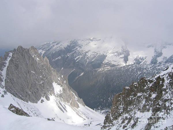Photograph - Sunlit Alps by Ann Horn