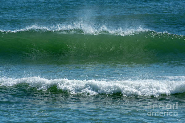Photograph - Sunlit Wave by Ruth H Curtis