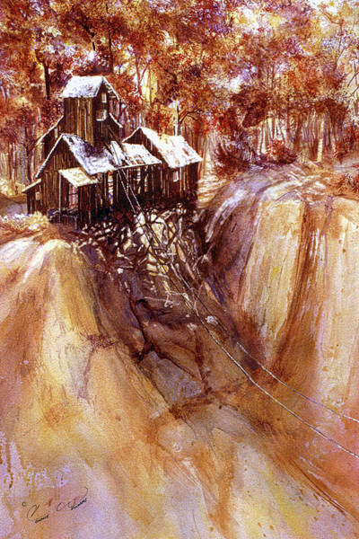 Painting - Sunlite Mine by Connie Williams
