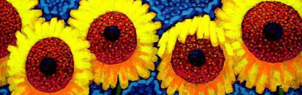 Wall Art - Painting -  Sunlover Quintet  by John  Nolan
