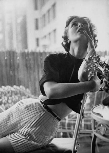 Photograph - Sunning In Sports Outfit, Is Crease-resi by Gordon Parks