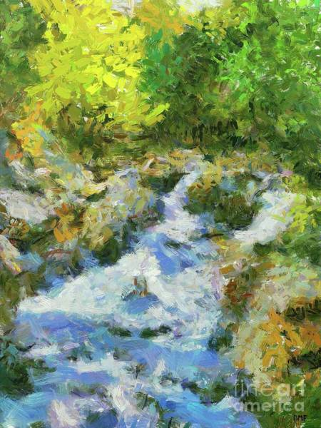 Wall Art - Painting - Sunny Afternoon In May by Dragica Micki Fortuna