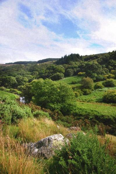 Photograph - Sunny Day In Wicklow Hills by Jenny Rainbow