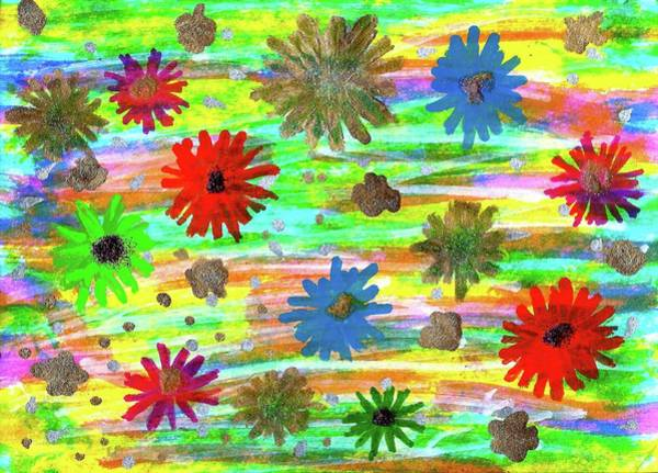 Painting - Sunny Funny Summer by Susan Schanerman