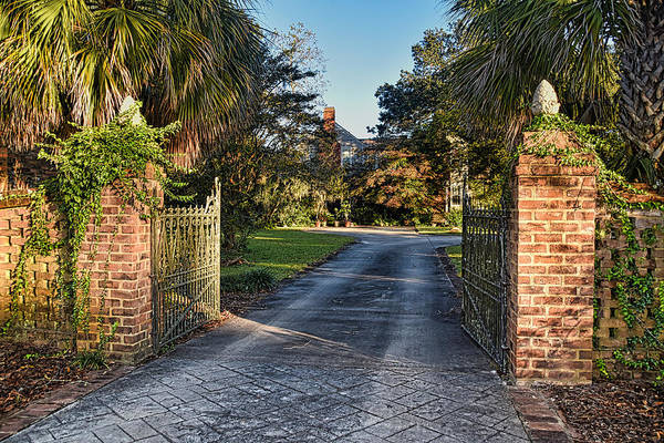 Wall Art - Photograph - Sunny Gate by Linda Brown