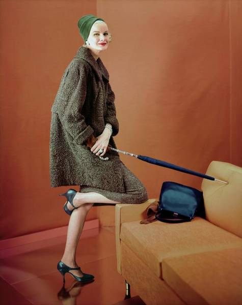 Photograph - Sunny Harnett In Schiaparelli by Henry Clarke