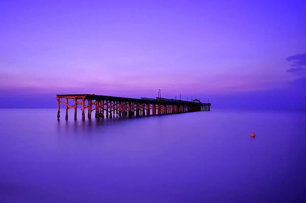 Old Florida Photograph - Sunny Isle Fishing Pier, Miami Florida by Shobeir Ansari