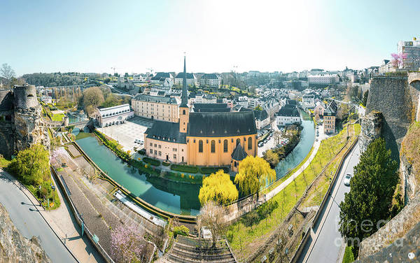 Wall Art - Photograph - Sunny Luxembourg City by JR Photography