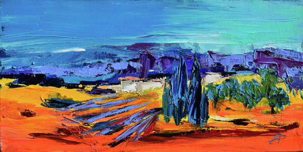 Painting - Sunny Provence by Elise Palmigiani