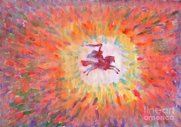 Painting - Sunny Rider by Irina Dobrotsvet