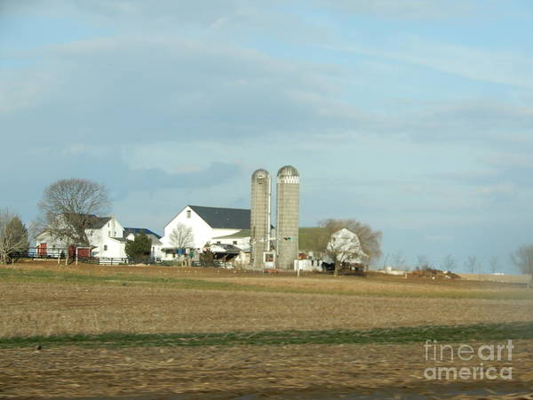 Photograph - Sunny Skies Over The Farm by Christine Clark
