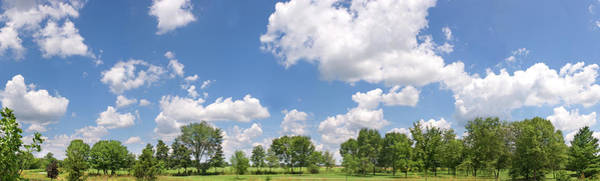 Family Time Wall Art - Photograph - Sunny Summer Day Panorama by Bradwieland