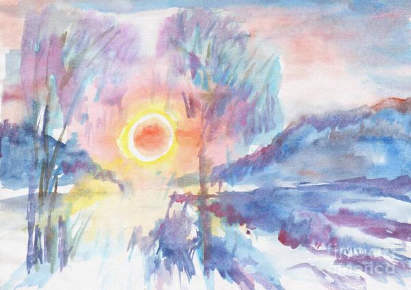 Painting - Sunny Winter Morning by Irina Dobrotsvet