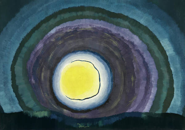 Wall Art - Painting - Sunrise, 1937 by Arthur Garfield Dove
