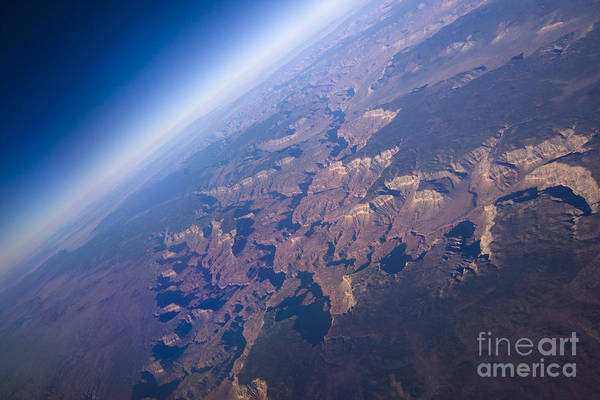 Wall Art - Photograph - Sunrise Aerial View Of The Grand Canyon by Glenn Young