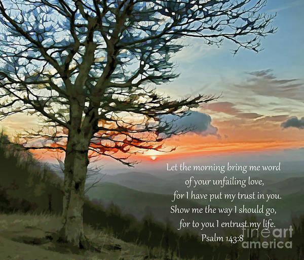 Photograph - Sunrise And Psalm by Kerri Farley